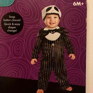 Jack Skellington Infant Costume 6+